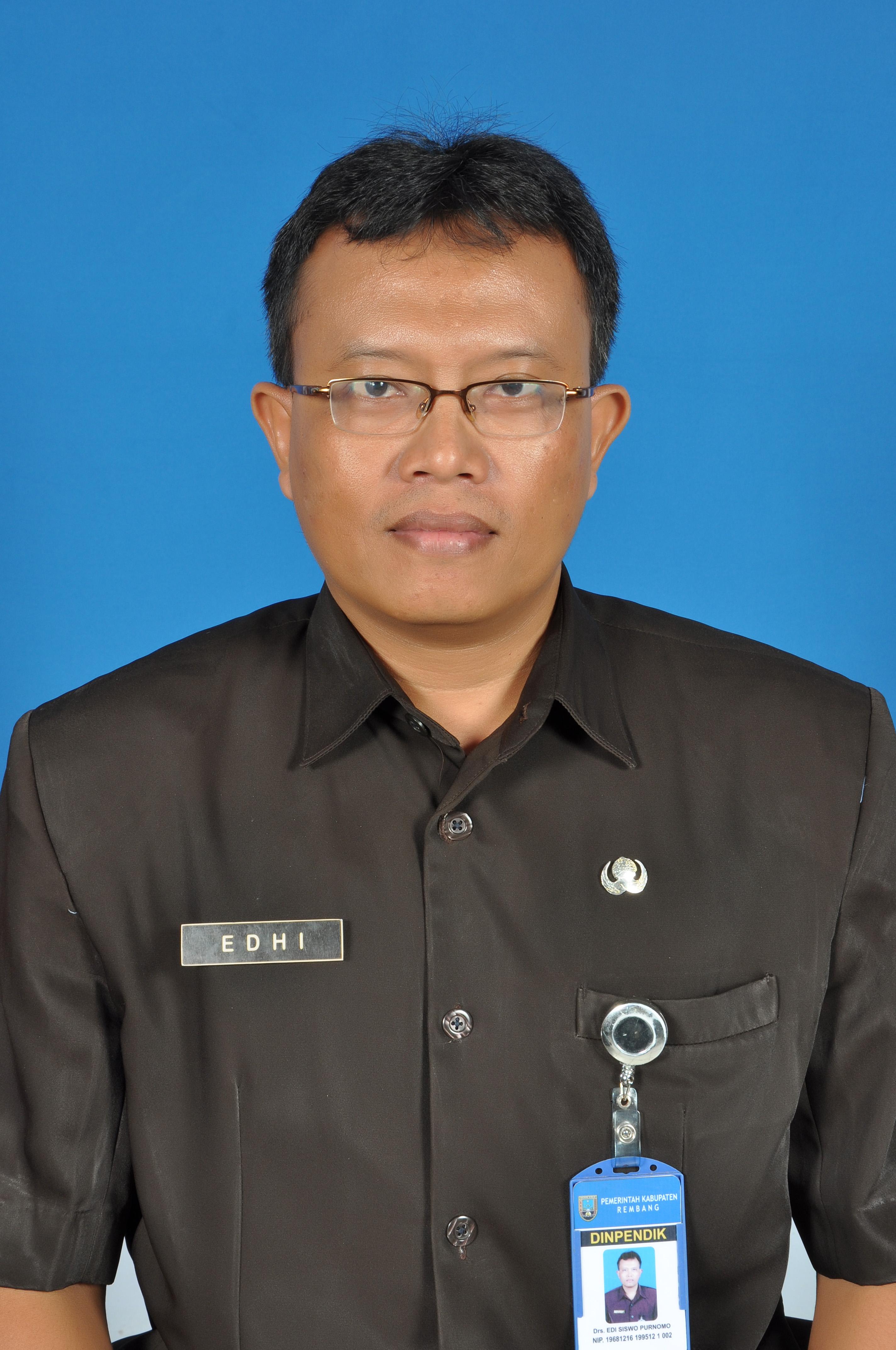 Drs. Edi Siswo P Ur.Kurikulum I Bid.Studi Bhs. Inggris